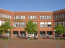 Schulhof der Eckener Schule
